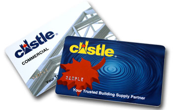 Castle consumer and commercial credit card